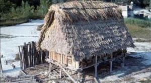 Maison lacustre de Chalain