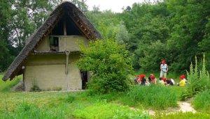 Le village lacustre de Gletterens