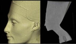 Nefertiti in Radiology